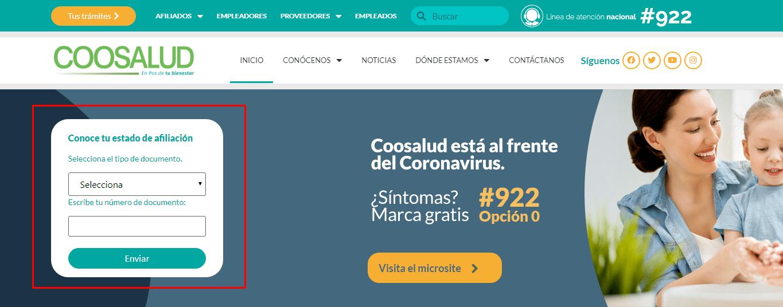 Imagen: Coosalud Certificado | Descarga tu Certificado EPS