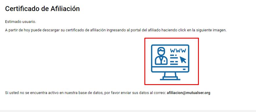 Imagen: Mutual Ser Certificado | Descarga tu Certificado EPS