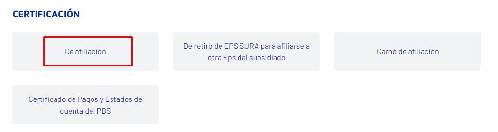 Imagen: Certificado SURA | Descarga tu certificado EPS